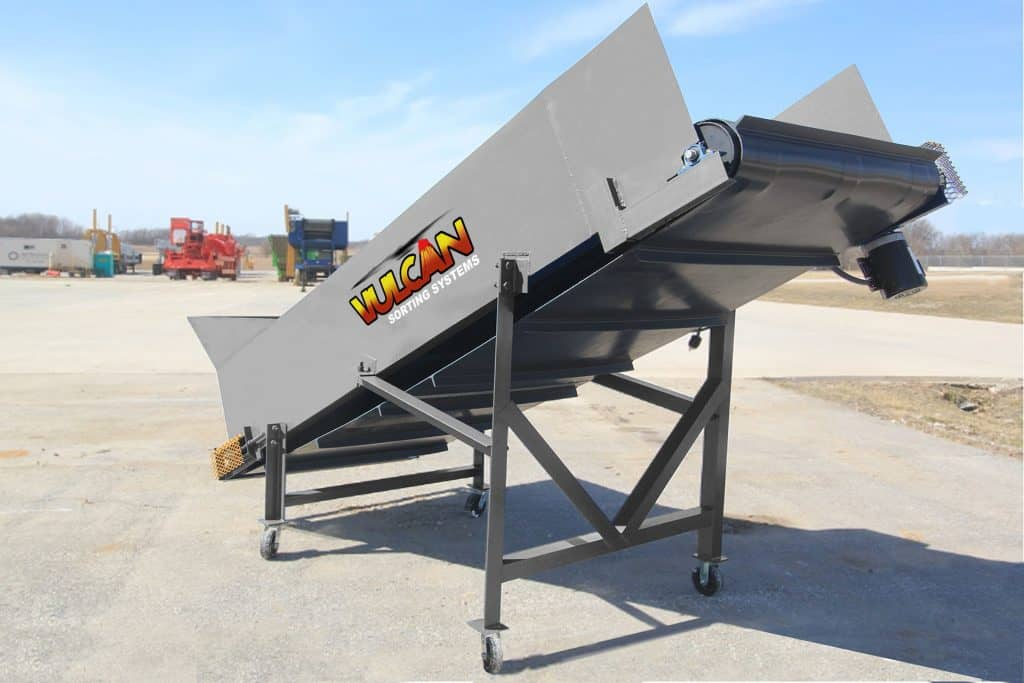 12′ Portable Incline Feed Conveyor