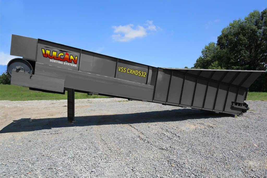 32′ Heavy Duty Incline Feed Conveyor
