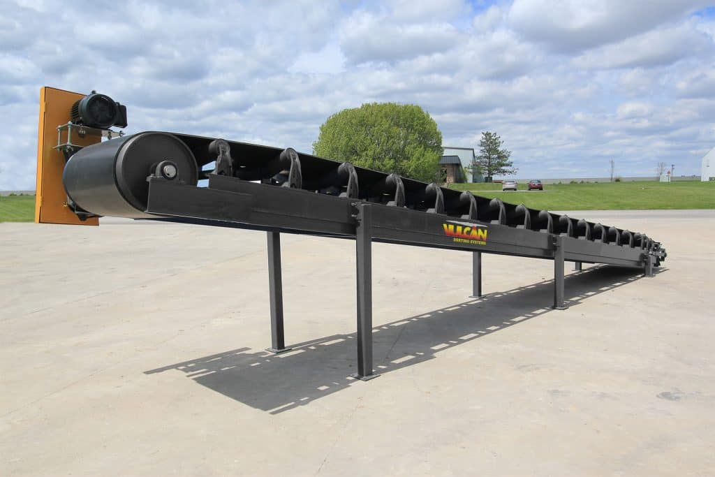 35′ Heavy Duty Aggregate Troughing Conveyor